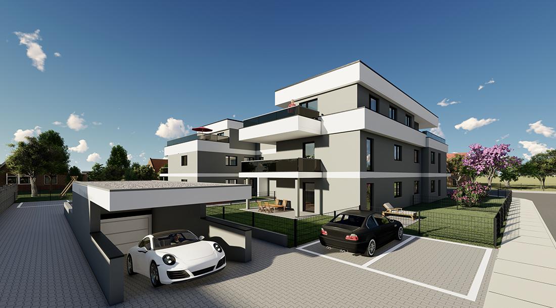 Römerstrasse Schwabmünchen Mehrfamilienwohnhaus