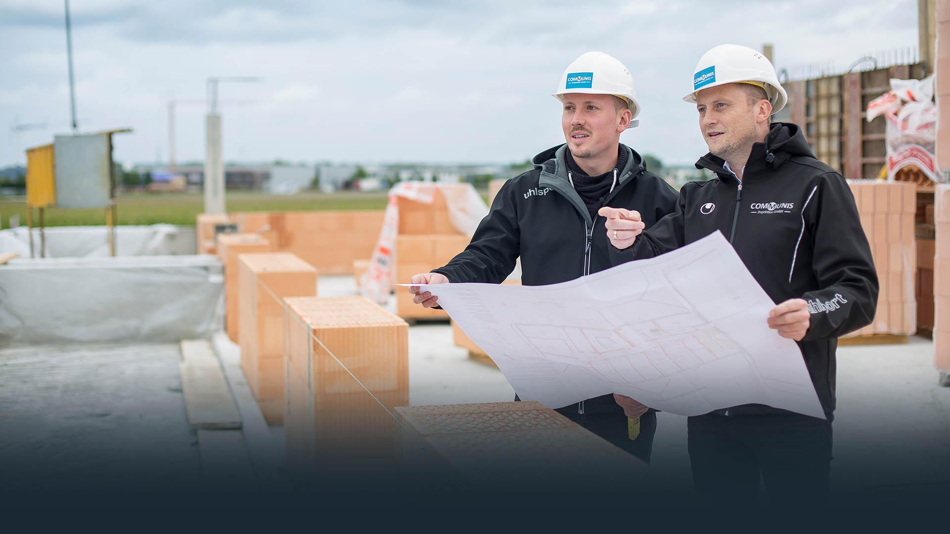 Communis Projektbau - heimatverbundenes mittelständisches Bauunternehmen aus Schwabmünchen für Hausbau, Wohnungsbau & Immobilien